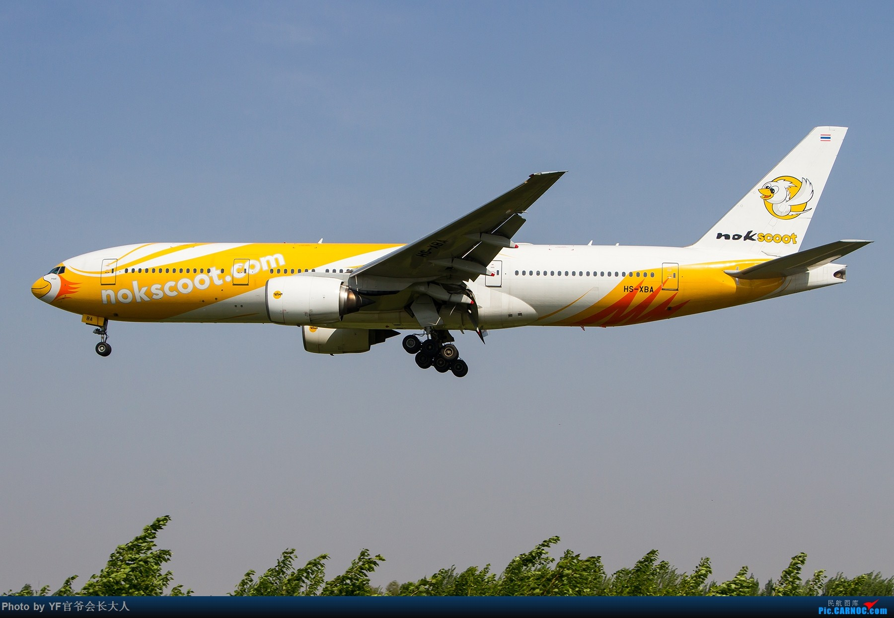 Re:[原创]【ZYTX】轻易不拍机,拍就要拍个过瘾!(新开的酷鸟,亚洲大西洋,顺带碰上朝韩两国的好货) BOEING 777-200ER HS-XBA 中国沈阳桃仙国际机场