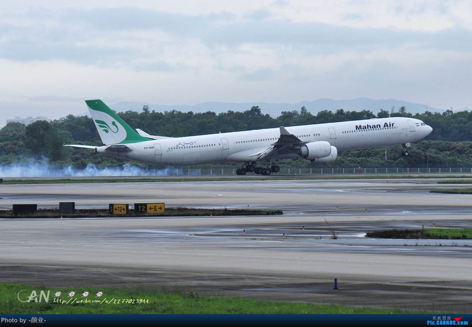 Re:[原创]2011-2016我的打灰机心情[广州] AIRBUS A300C4-600 EP-MMI 中国广州白云国际机场