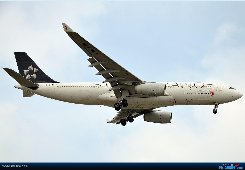 Re:[原创]烂天的PVG,北美进港高峰,UA/CA大星星 AIRBUS A330-200 B-6091 中国上海浦东国际机场