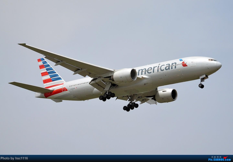 Re:[原创]烂天的PVG,北美进港高峰,UA/CA大星星 BOEING 777-200ER N797AN 中国上海浦东国际机场