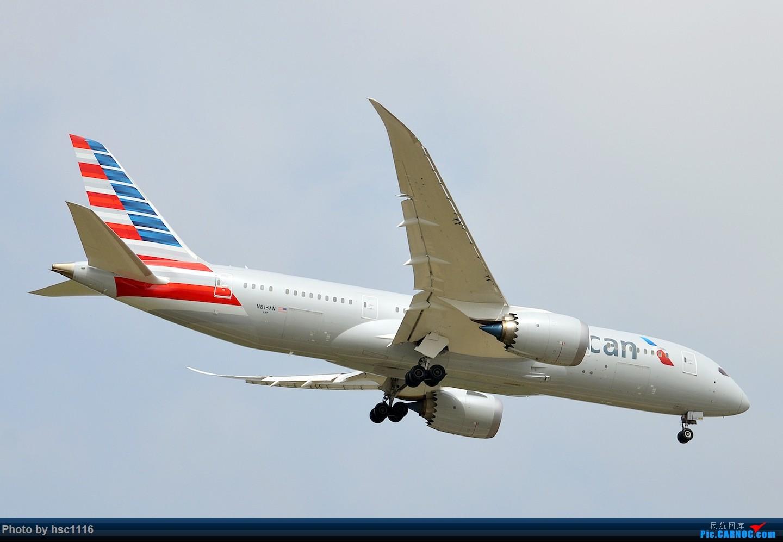 Re:[原创]烂天的PVG,北美进港高峰,UA/CA大星星 BOEING 787-8 N813AN 中国上海浦东国际机场