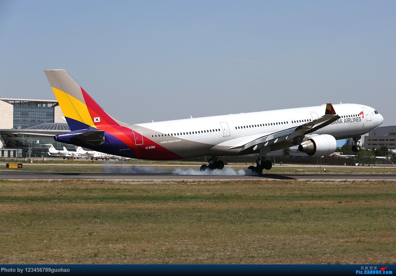 Re:[原创]归置一组18R AIRBUS A330-300 HL8286 北京首都机场