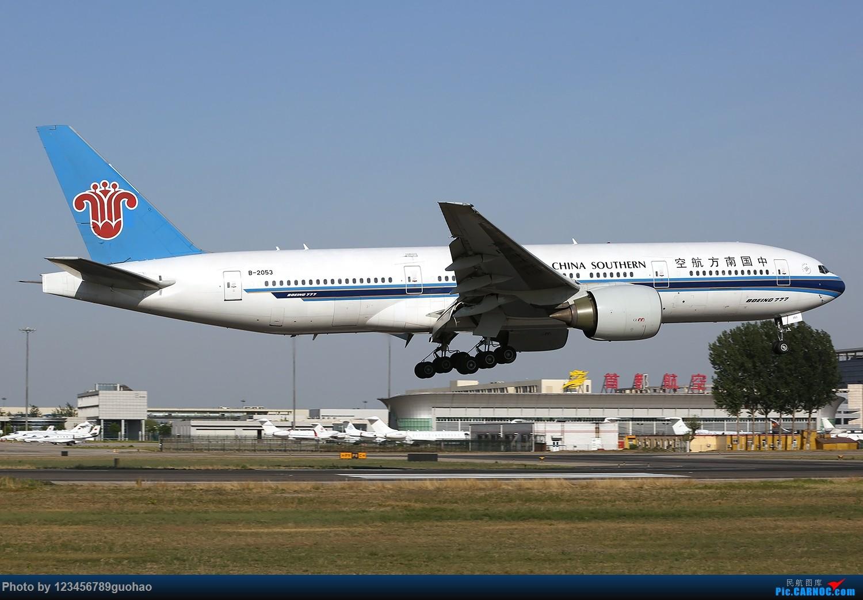 Re:[原创]归置一组18R BOEING 777-200 B-2053 北京首都机场