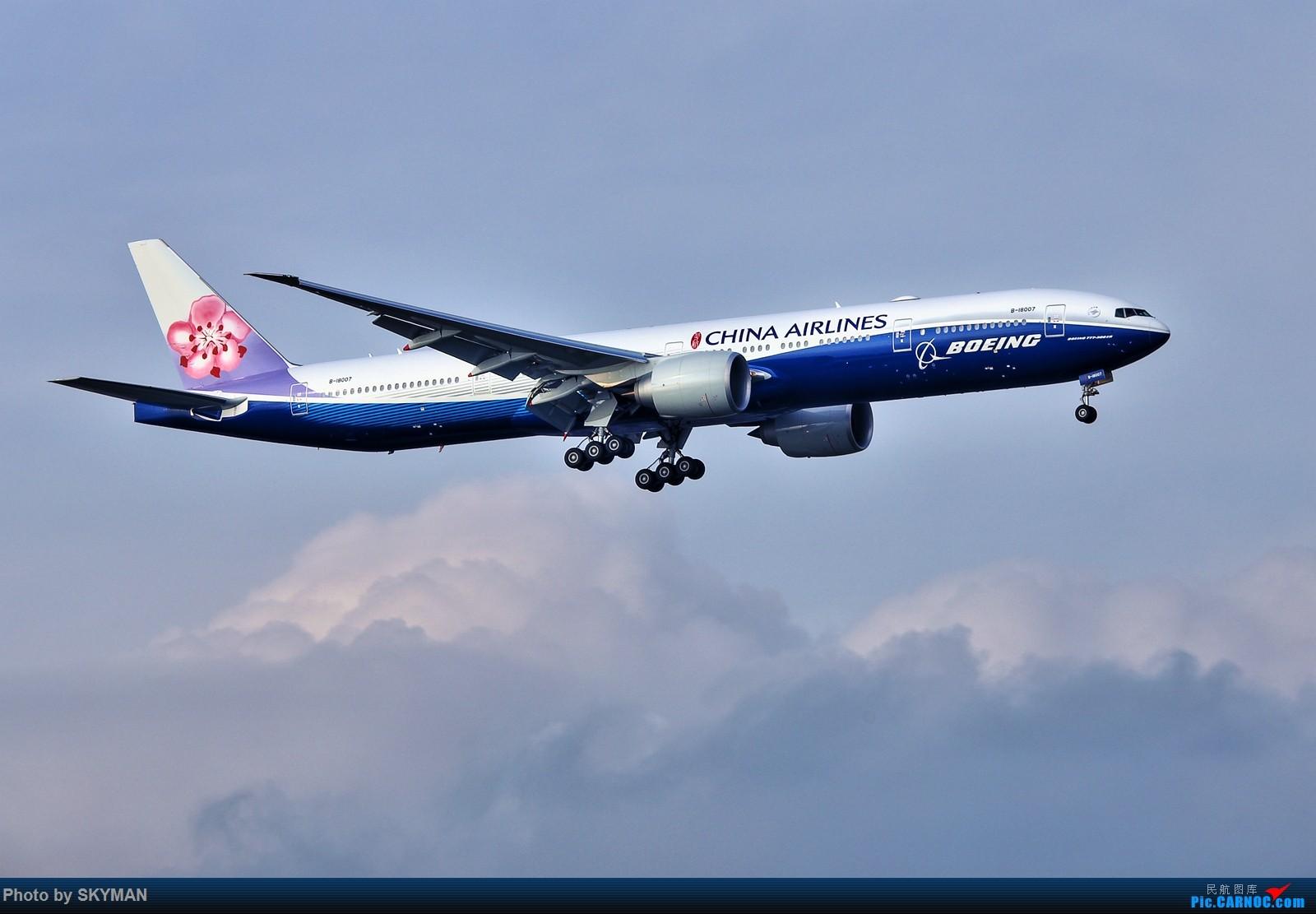 BLDDQ     华航蓝鲸77W首飞深圳!!! BOEING 777-300ER B-18007 中国深圳宝安国际机场