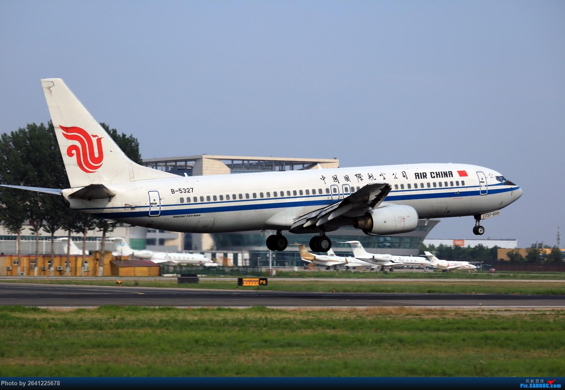 Re:[原创]【PEK】初战铁匠营 BOEING 737-800 B-5327 中国北京首都国际机场