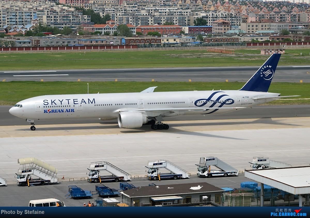 Re:[原创]DLC 大韩邮戳 BOEING 777-300ER HL7783 中国大连国际机场
