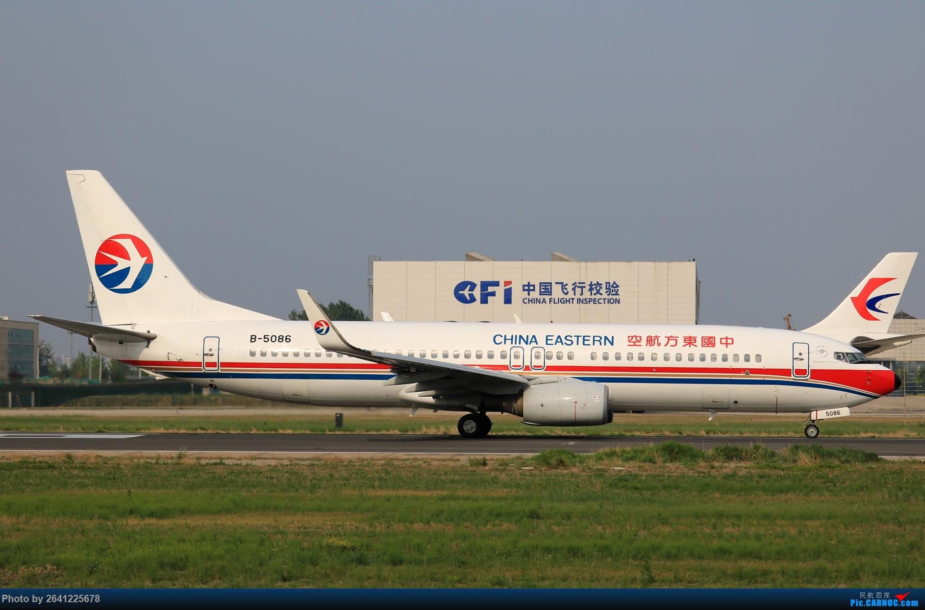 [原创]【pek】初战铁匠营(二) BOEING 737-800 B-5086 中国北京首都国际机场