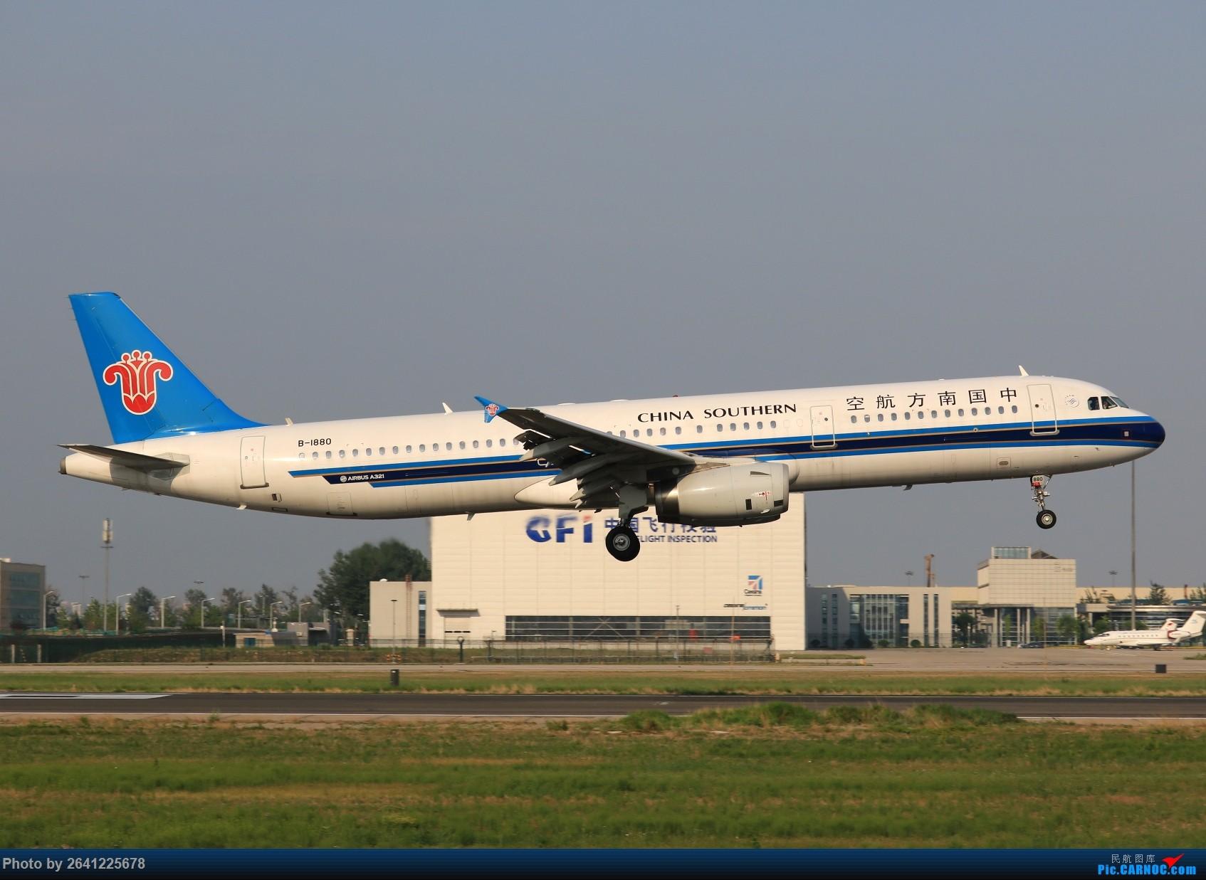 Re:[原创]【pek】初战铁匠营(二) AIRBUS A321-200 B-1880 中国北京首都国际机场
