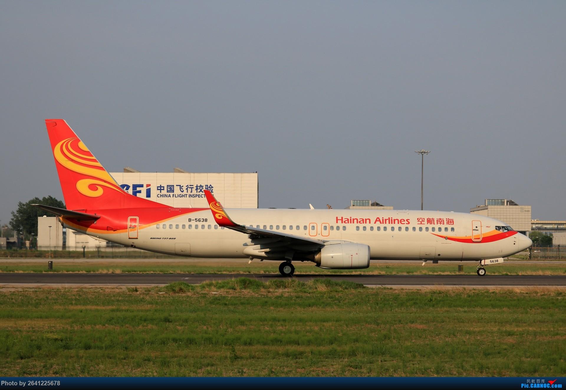 Re:[原创]【pek】初战铁匠营(二) BOEING 737-800 B-5638 中国北京首都国际机场