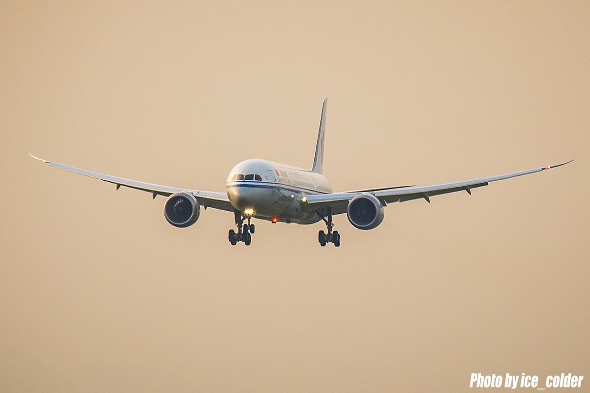 [原创][圆梦5.20]中国首架波音787-9梦想客机到京现场纪实,高清大图。 BOEING 787-9 B-7877 中国北京首都国际机场