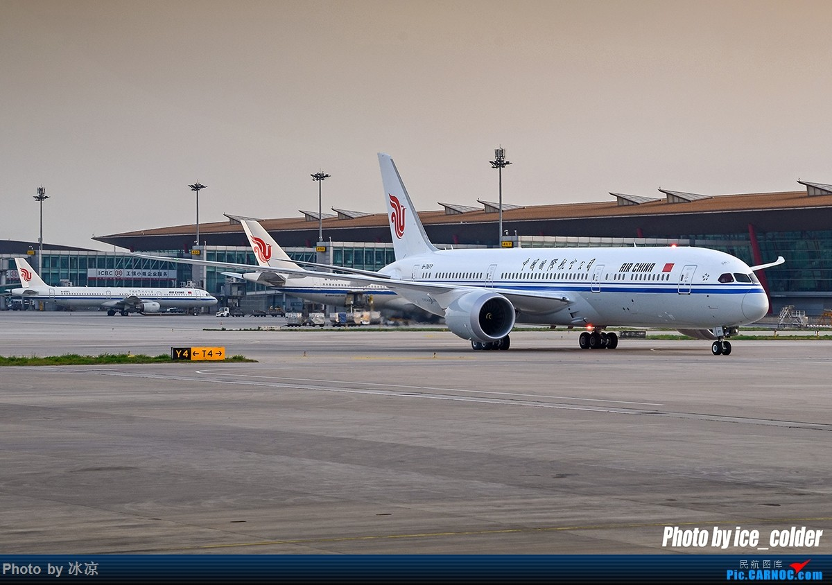 Re:[原创][圆梦5.20]中国首架波音787-9梦想客机到京现场纪实,高清大图。 BOEING 787-9 B-7877 中国北京首都国际机场