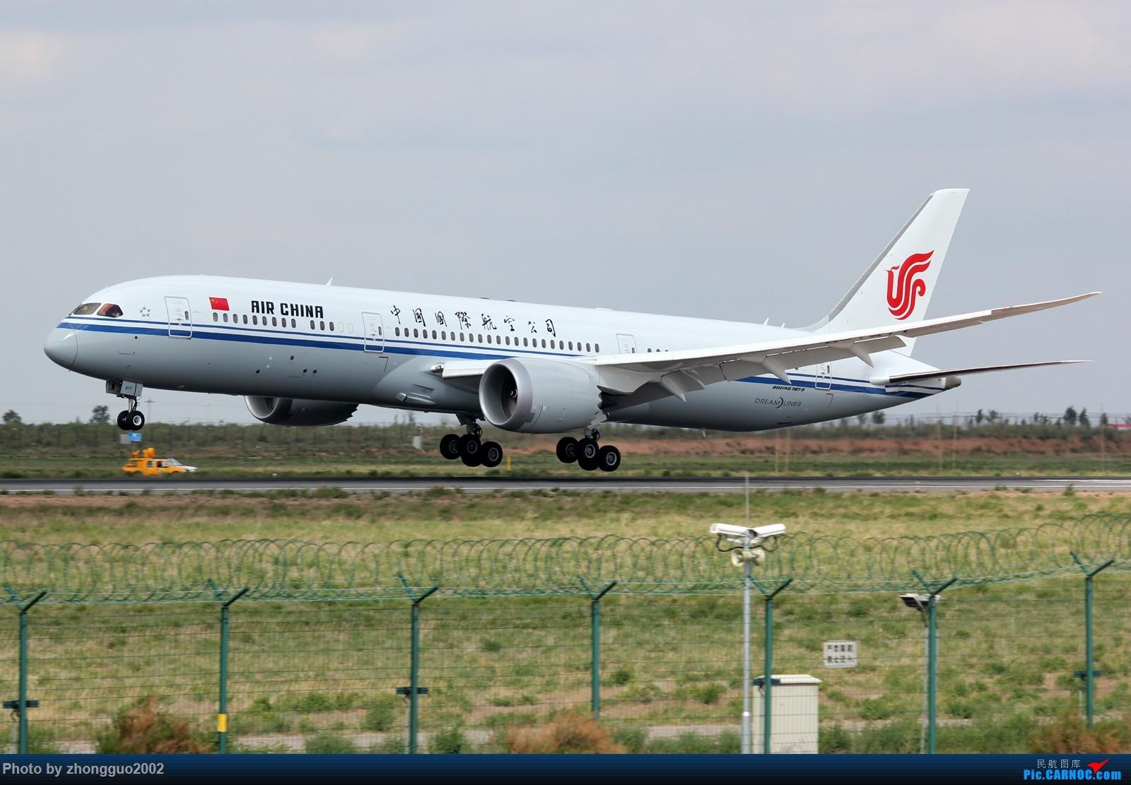 789re_re:[原创]国航789(b-7877)鄂尔多斯机场本场训练 boeing 787-9 b-7877