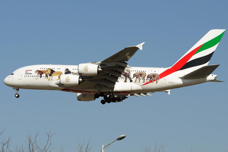 Re:[原创]【PEK】继续炒冷饭,PEK杂图一组 AIRBUS A380-800 A6-EEI 中国北京首都国际机场