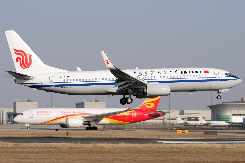 Re:[原创]【PEK】继续炒冷饭,PEK杂图一组 BOEING 737-800 B-7180 中国北京首都国际机场