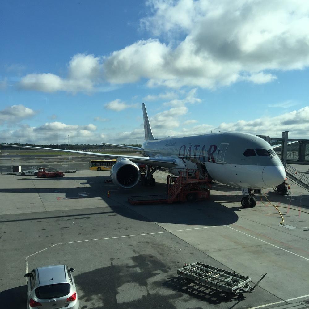 [原创]好久没发游记,来一串撸:德意捷西游汉莎瑞航KLM    挪威奥斯陆机场
