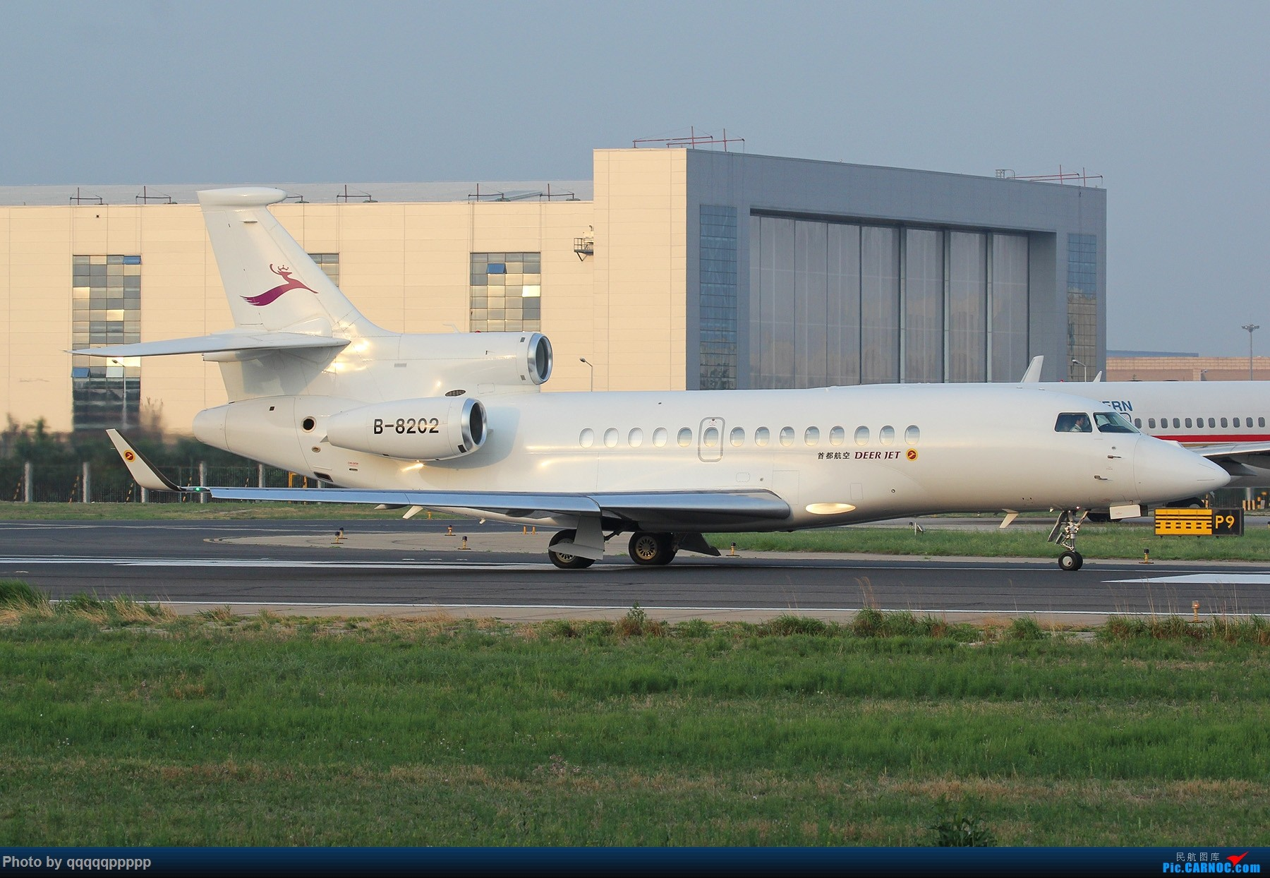 Re:杂图一组 DASSAULT FALCON 7X B-8202 中国北京首都国际机场