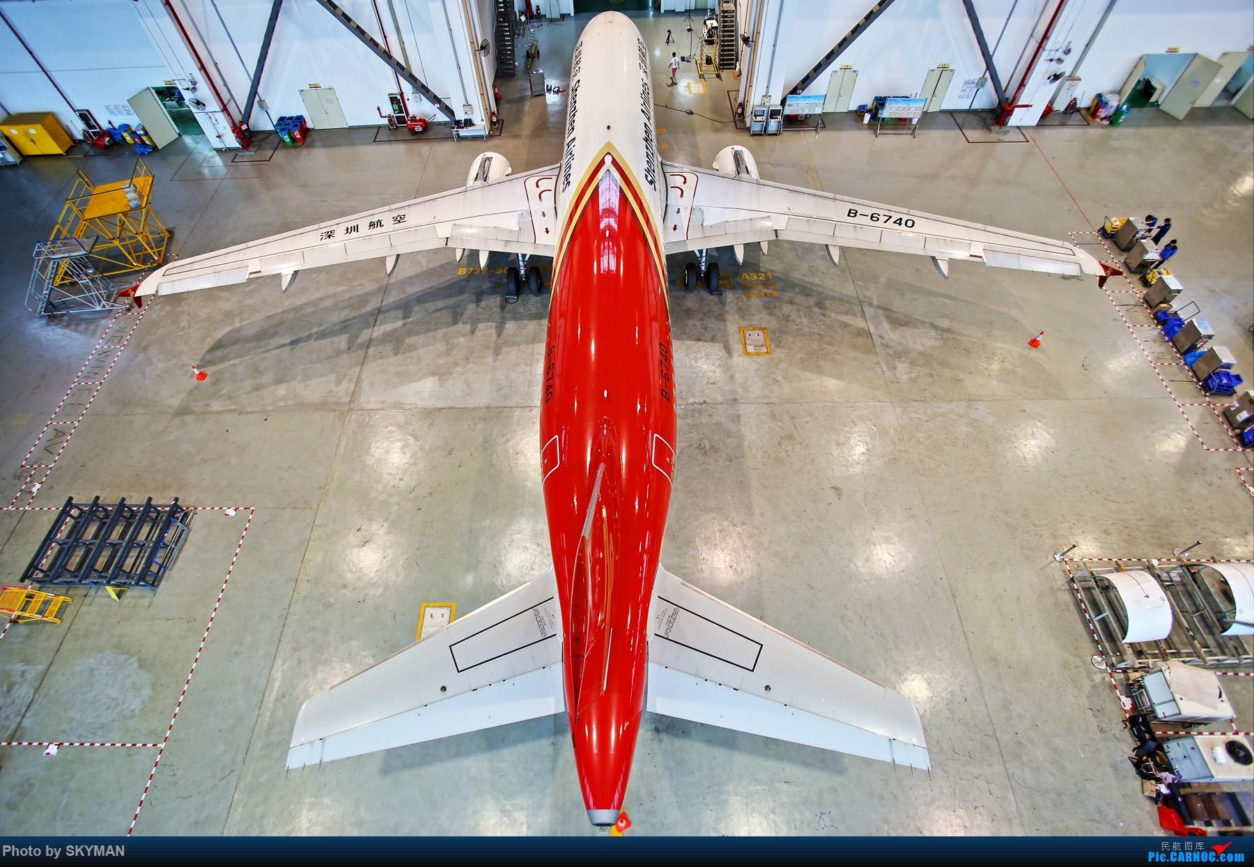 [原创]一图 AIRBUS A320-200 B-6740 中国深圳宝安国际机场