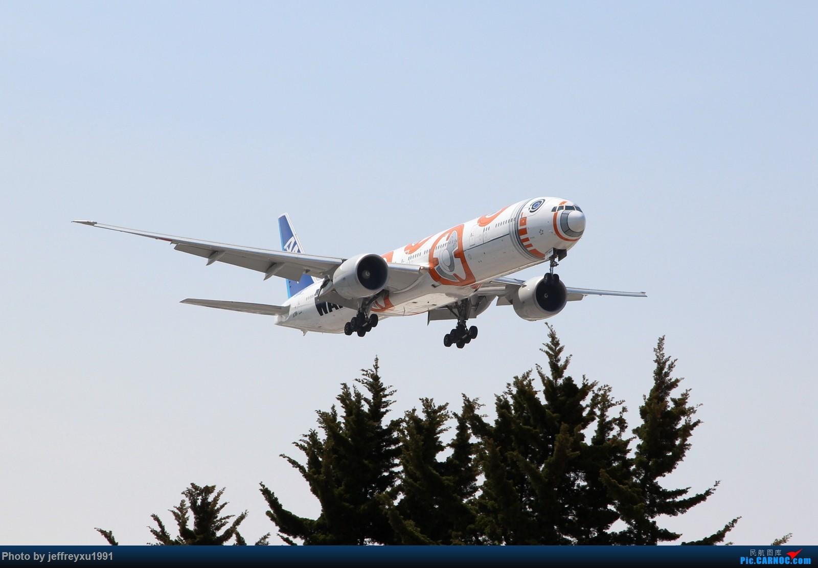 [原创]【芝加哥拍机】全日空 波音777-300ER(JA789A)星球大战 BB-8涂装 降落ORD BOEING 777-300ER JA789A 美国芝加哥奥黑尔国际机场