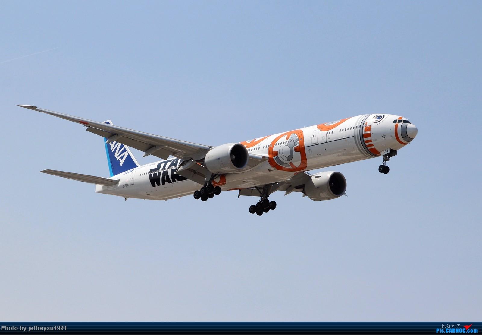 Re:[原创]【芝加哥拍机】全日空 波音777-300ER(JA789A)星球大战 BB-8涂装 降落ORD BOEING 777-300ER JA789A 美国芝加哥奥黑尔国际机场