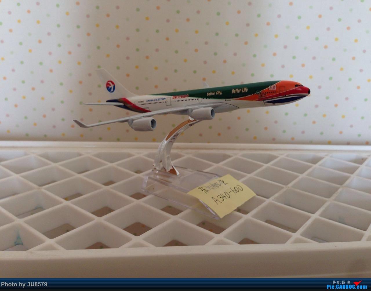 Re:[原创]东航世博彩绘机 AIRBUS A340-600 B-6055