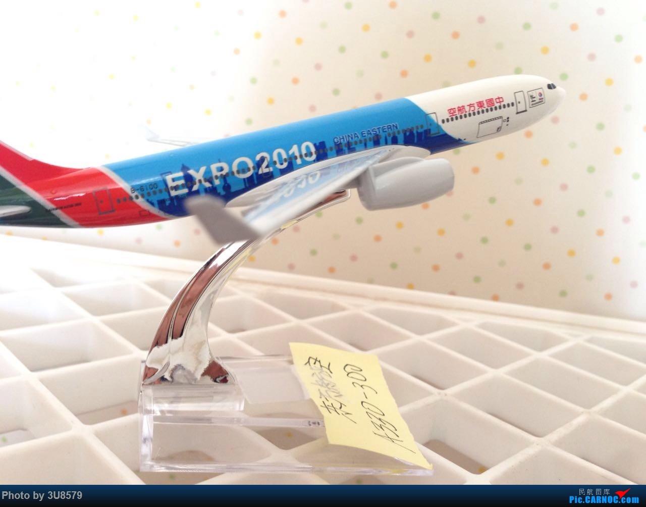 Re:[原创]东航世博彩绘机 AIRBUS A330-300 B-6100