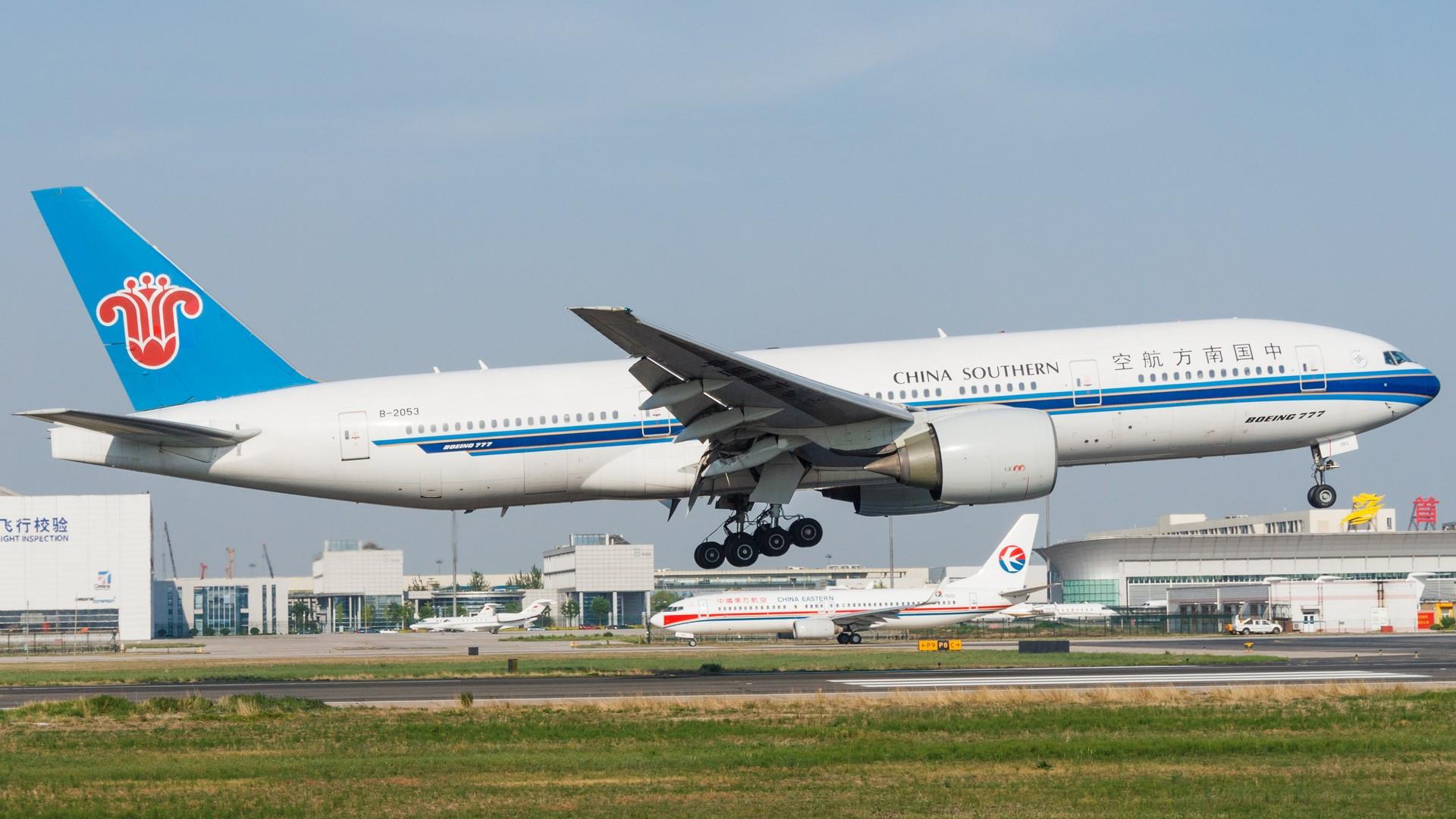 【一图党】【PEK】中国南方航空 B-2053 BOEING 777-200 B-2053 中国北京首都国际机场