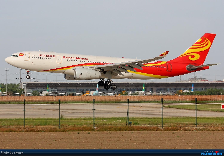 [原创]***【TSN天津飞友会】天津航空租赁的海航A330!*** AIRBUS A330-200 B-6089 中国天津滨海国际机场