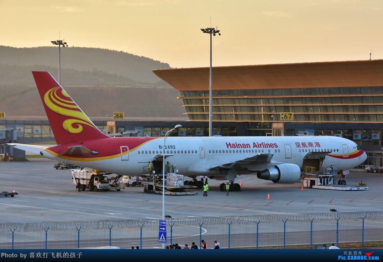 Re:[原创]【机机的飞飞】 与 @KMG木鱼 的长水半日闲 BOEING 767-300 B-2492 中国昆明长水国际机场