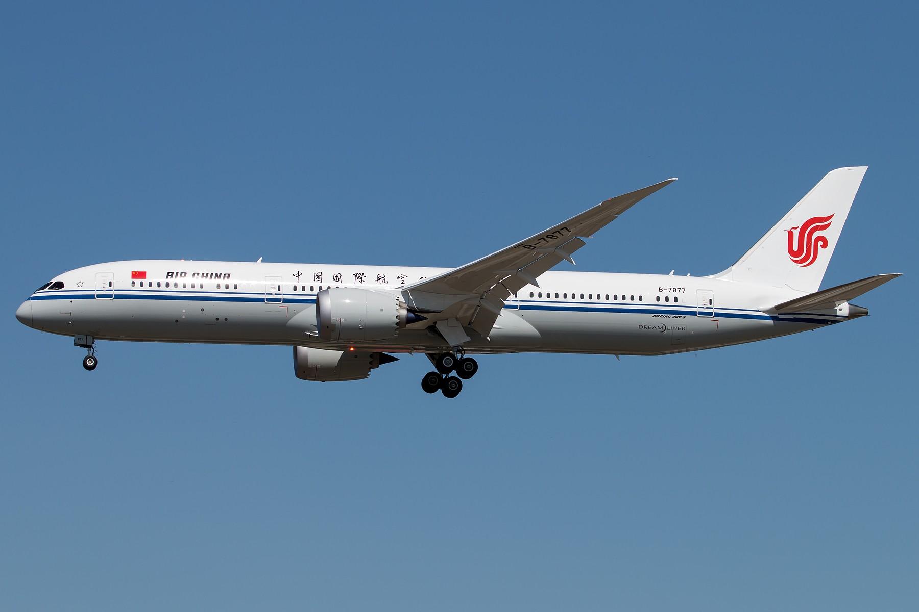 Re:[原创]CA1519&CA1520 1800*1200 BOEING 787-9 B-7877 中国北京首都国际机场