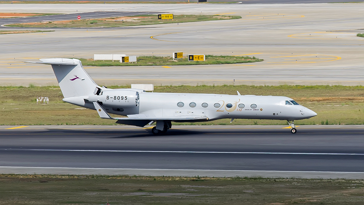 Re:【昆明长水国际机场-KMG木鱼】5月的最后一个周末,遇到了多云的天气 GULFSTREAM G550 B-8095 中国昆明长水国际机场