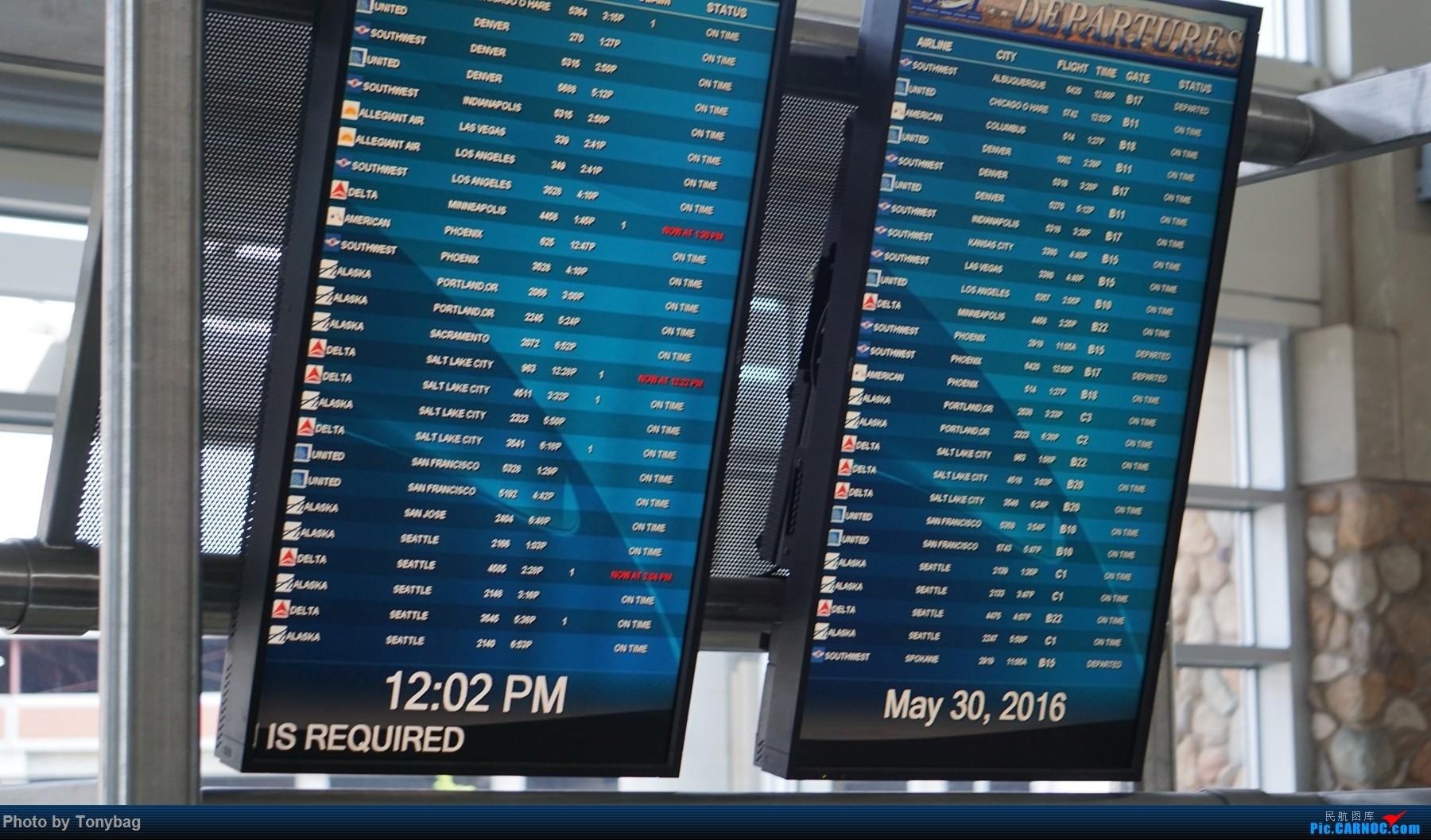 [原创]Memorial Day美国博伊西机场一瞥(附博伊西市貌、州政府)
