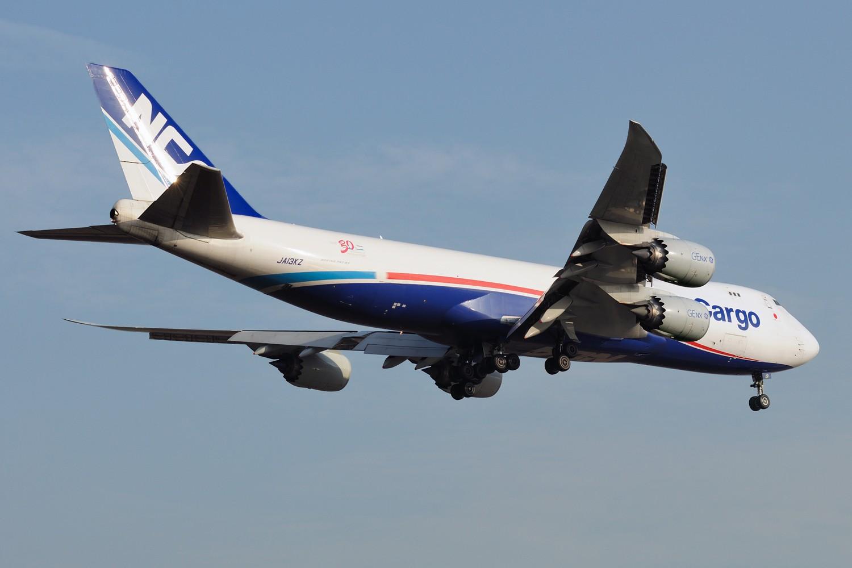 [原创]【PVG】浦东常规货一组,飞机还是要拍,冷饭还是要炒 BOEING 747-8F JA13KZ 中国上海浦东国际机场