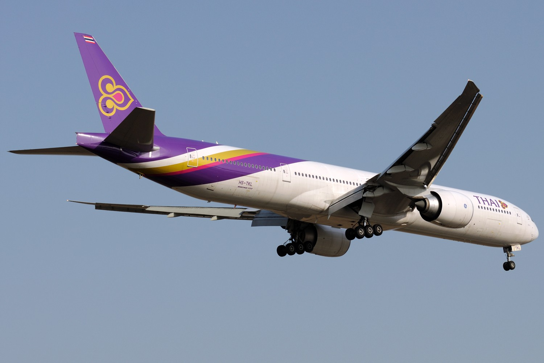 Re:[原创]【PVG】浦东常规货一组,飞机还是要拍,冷饭还是要炒 BOEING 777-300ER HS-TKL 中国上海浦东国际机场