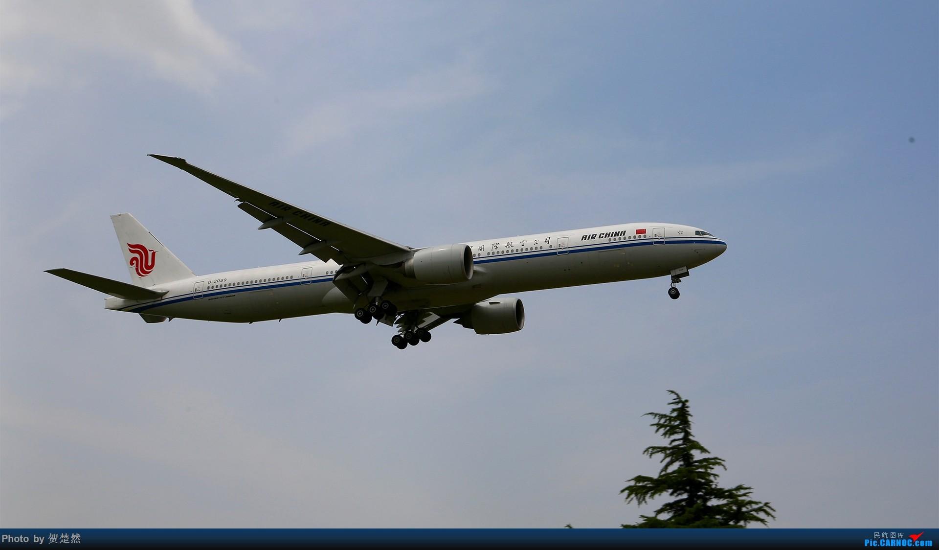 Re:[原创]高考同时高一党ZBAA拍机 BOEING 777-300ER B-2089 北京首都国际机场