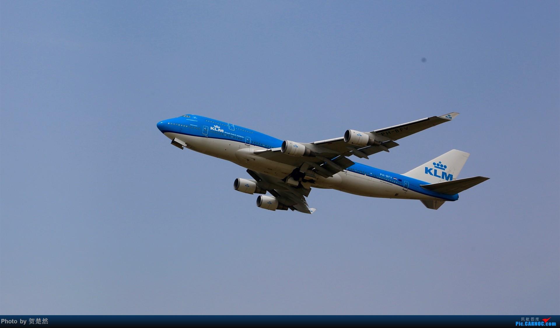 Re:[原创]高考同时高一党ZBAA拍机 BOEING 747-400 PH-BFV 中国北京首都国际机场
