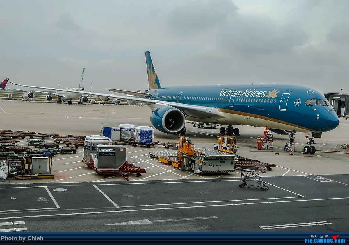 [原创]2016-06-06,烂天在浦东T2里解决个有无,越南航空A359和新西兰航空B789~ A350-900  中国上海浦东国际机场