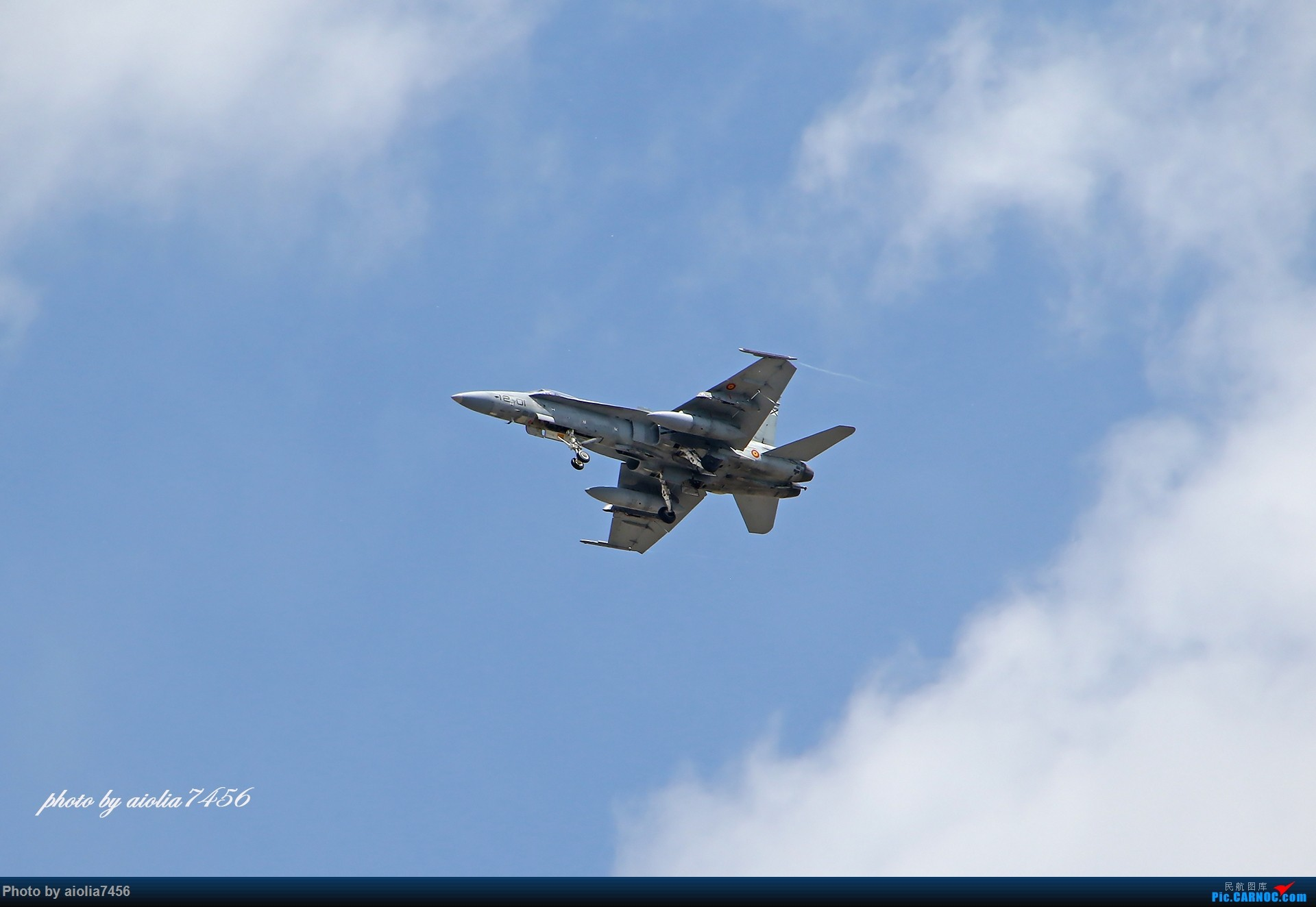 Re:[原创]【合肥飞友会】西行归来第一弹--西班牙皇家空军 EF-18A HORNET C15-56 torrejon de ardoz