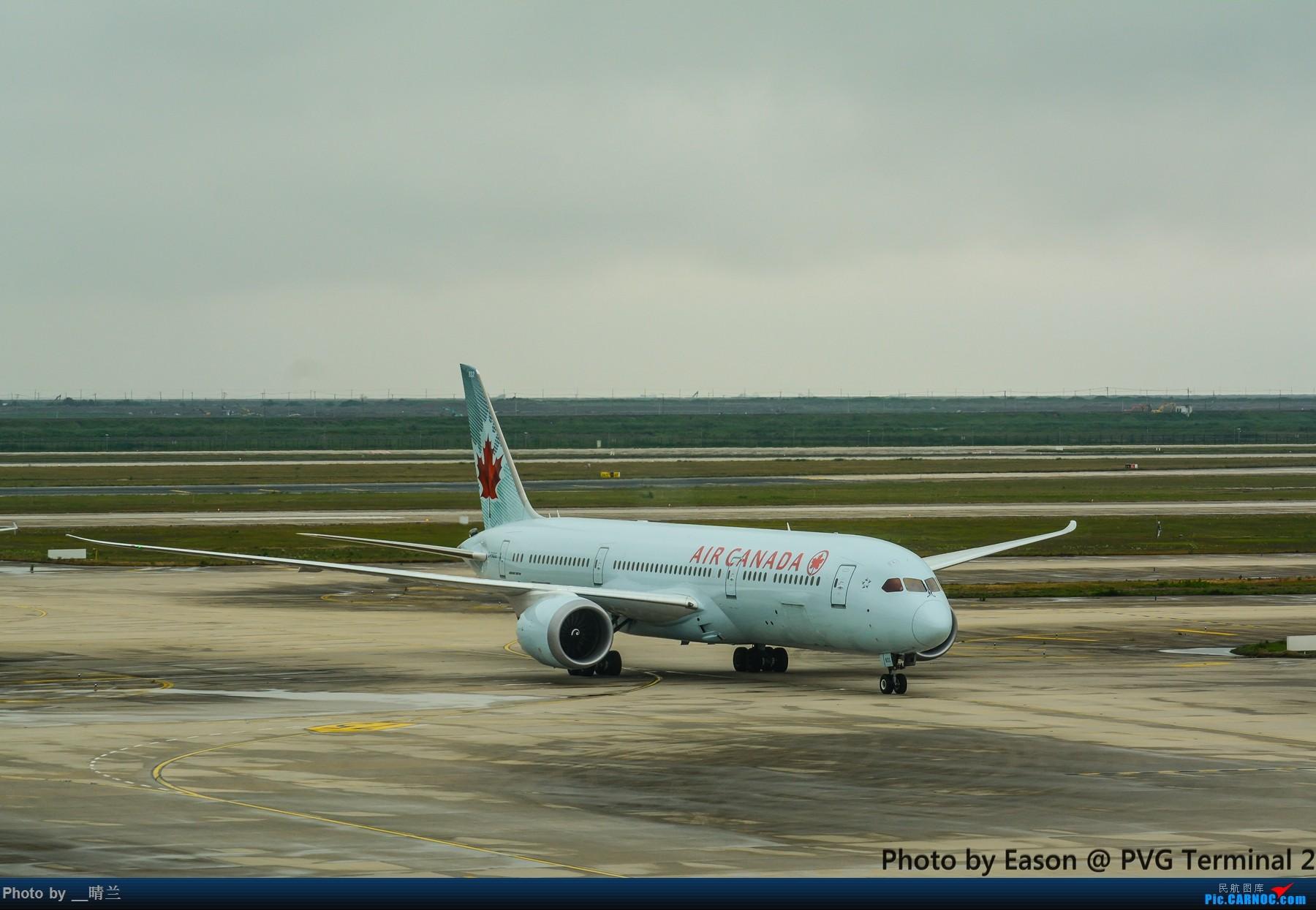 [原创]PVG+SIN候机楼杂拍 BOEING 787-9 C-FNOG 中国上海浦东国际机场