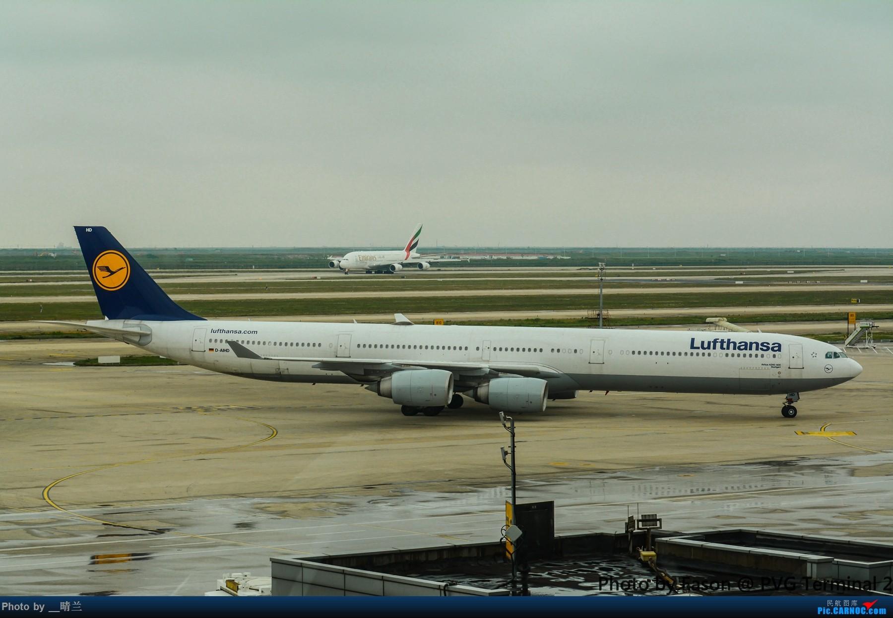 Re:[原创]PVG+SIN候机楼杂拍 AIRBUS A340-600  中国上海浦东国际机场