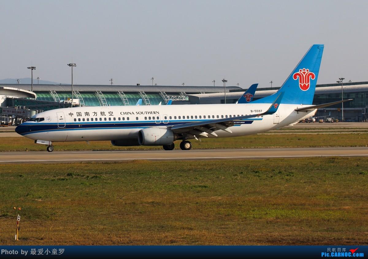 Re:[原创]广州白云机场——大白菜的地盘 BOEING 737-800 B-5597 中国广州白云国际机场