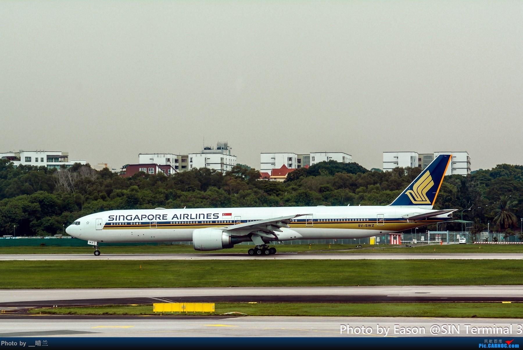 Re:[原创]PVG+SIN候机楼杂拍 BOEING 777-300ER 9V-SWZ 新加坡樟宜机场