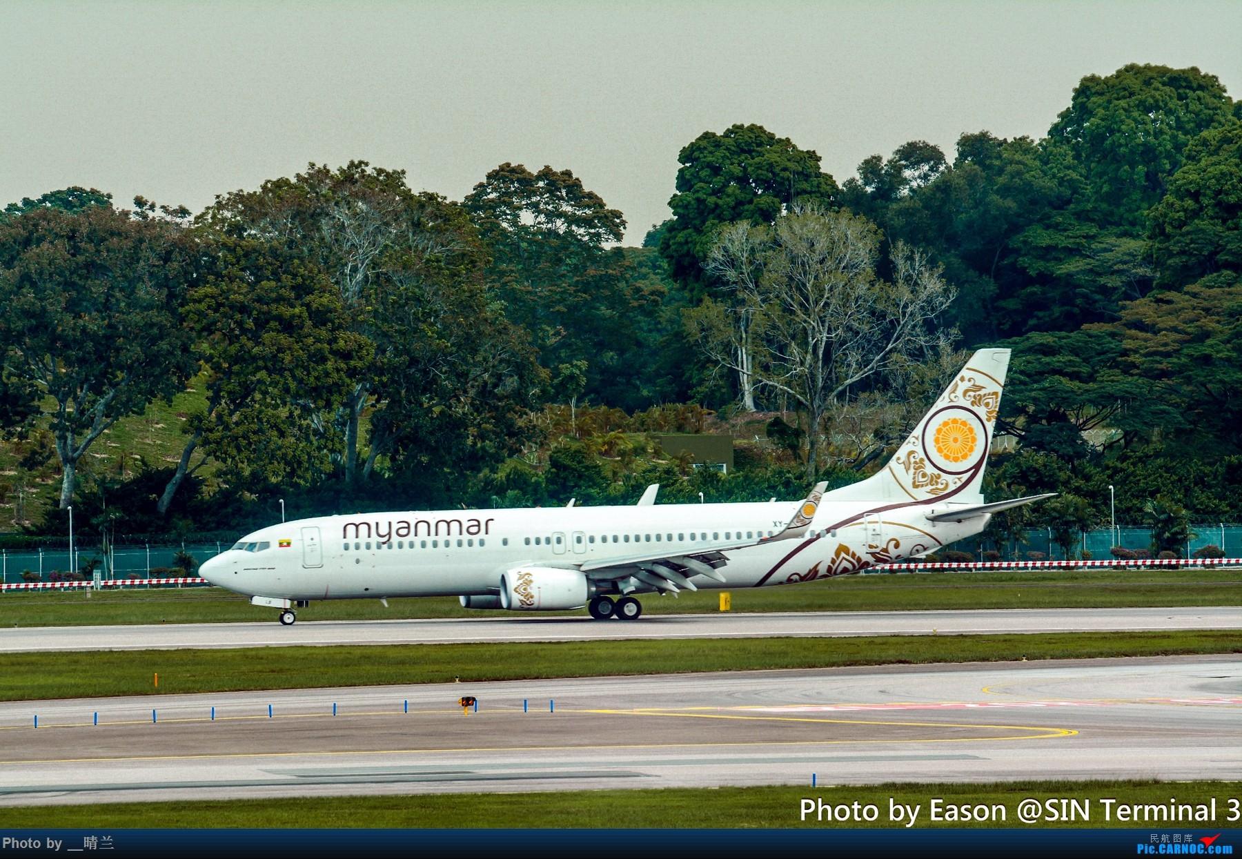 Re:[原创]PVG+SIN候机楼杂拍 BOEING 737-800 XY-ALB 新加坡樟宜机场