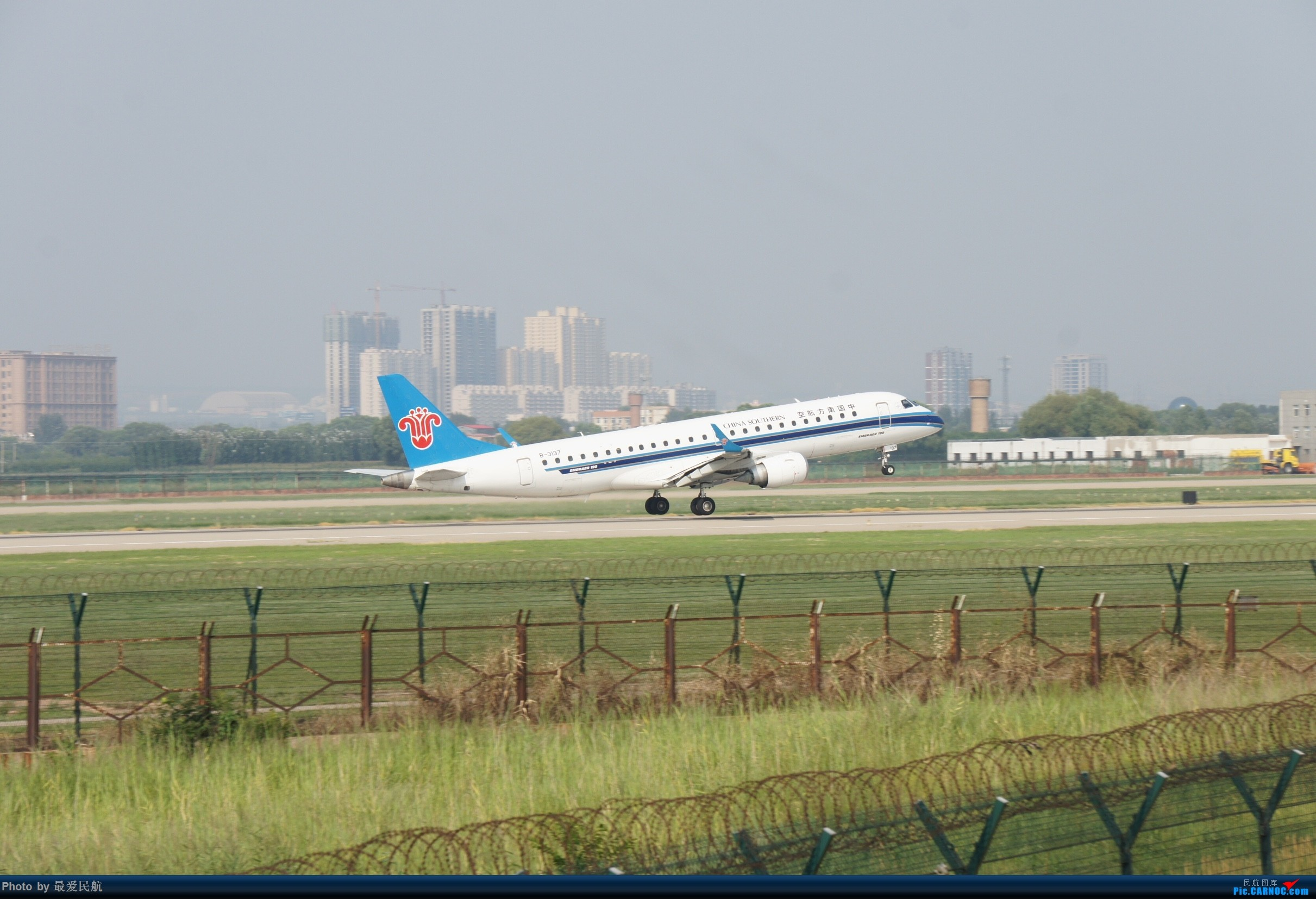 Re:[原创]太原武宿国际机场!端午节交作业 EMBRAER E-190 B-3137 中国太原武宿国际机场