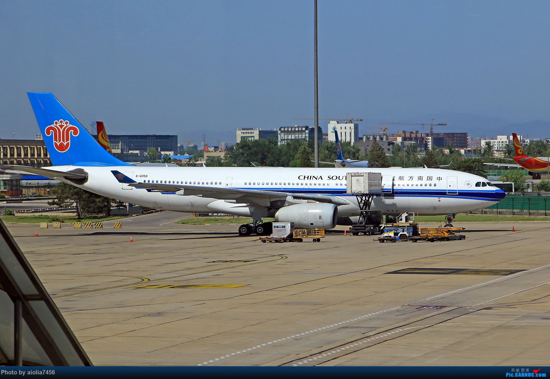 Re:[原创]【合肥飞友会】西行归来第二弹--西行拍机 AIRBUS A330-200 B-6056 中国北京首都国际机场