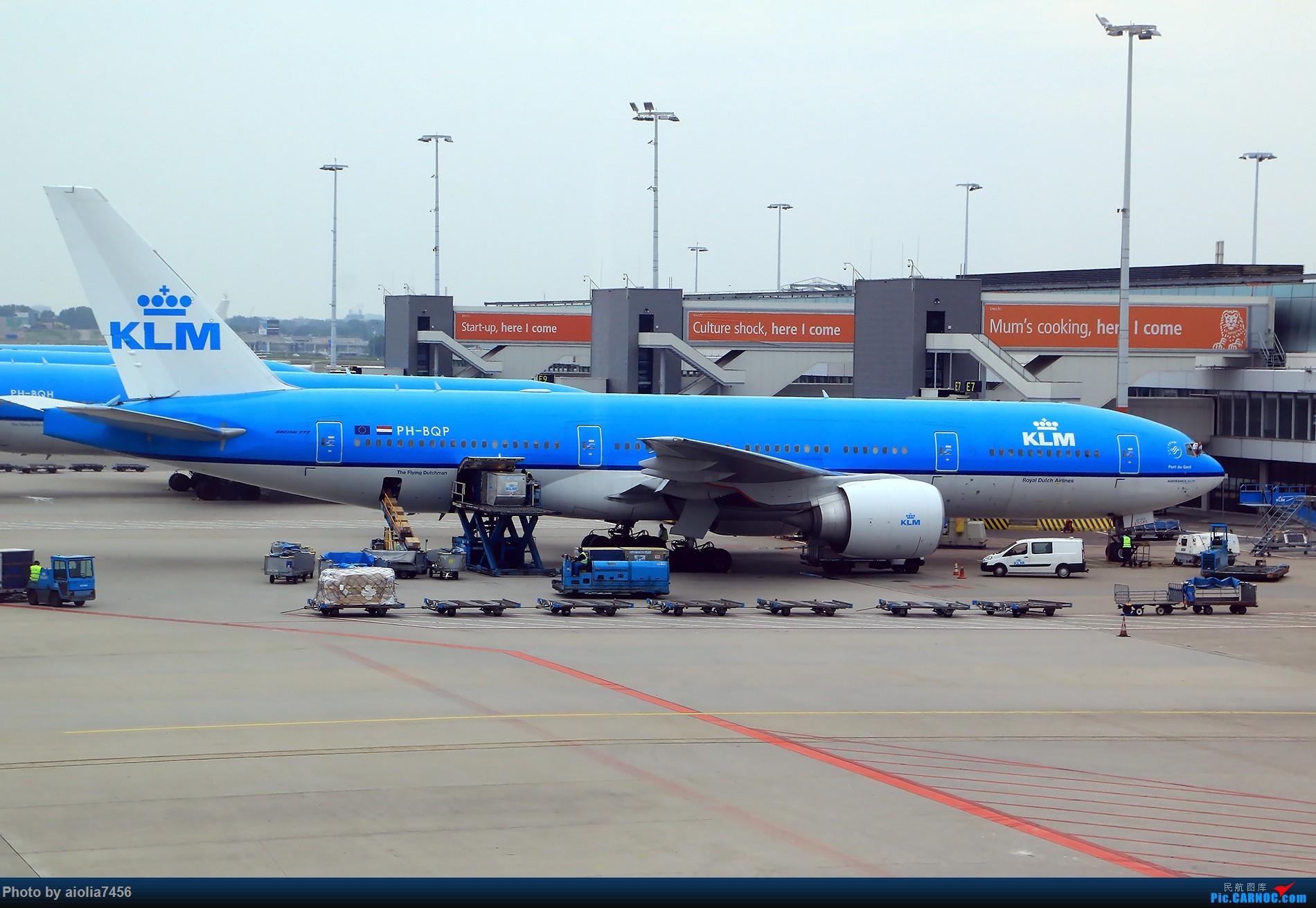 Re:[原创]【合肥飞友会】西行归来第二弹--西行拍机 BOEING 777-300 PH-BQP 荷兰阿姆斯特丹史基浦机场