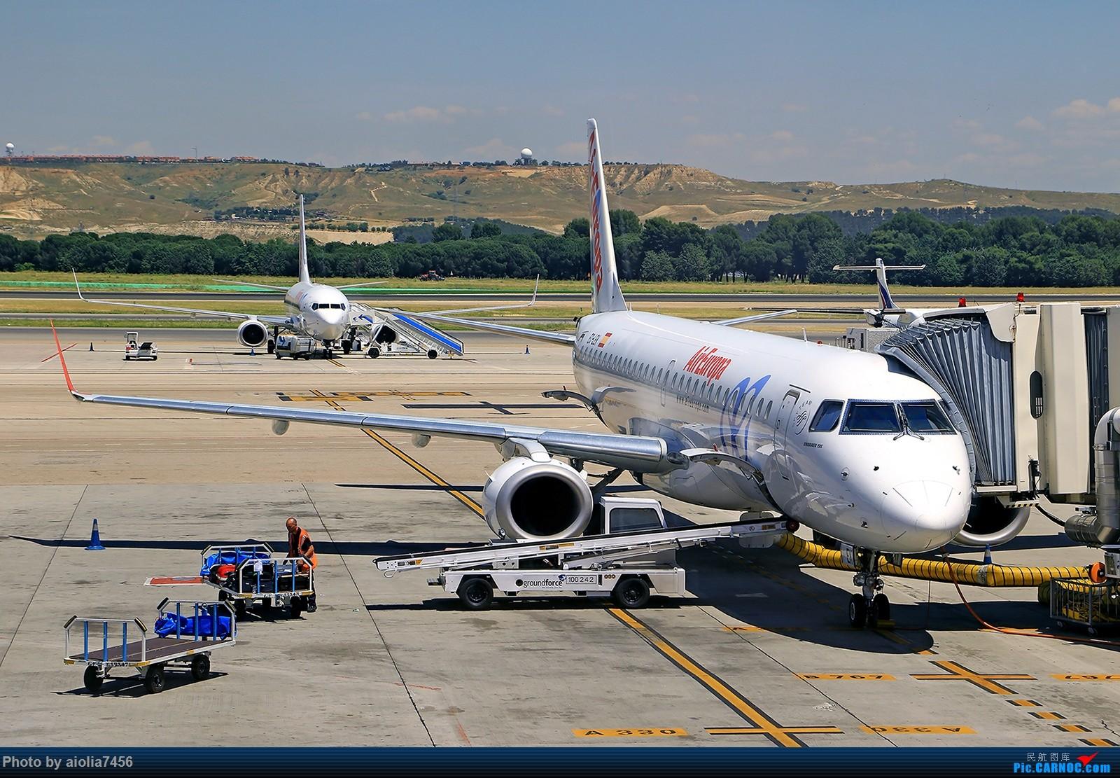 Re:[原创]【合肥飞友会】西行归来第二弹--西行拍机    西班牙马德里机场
