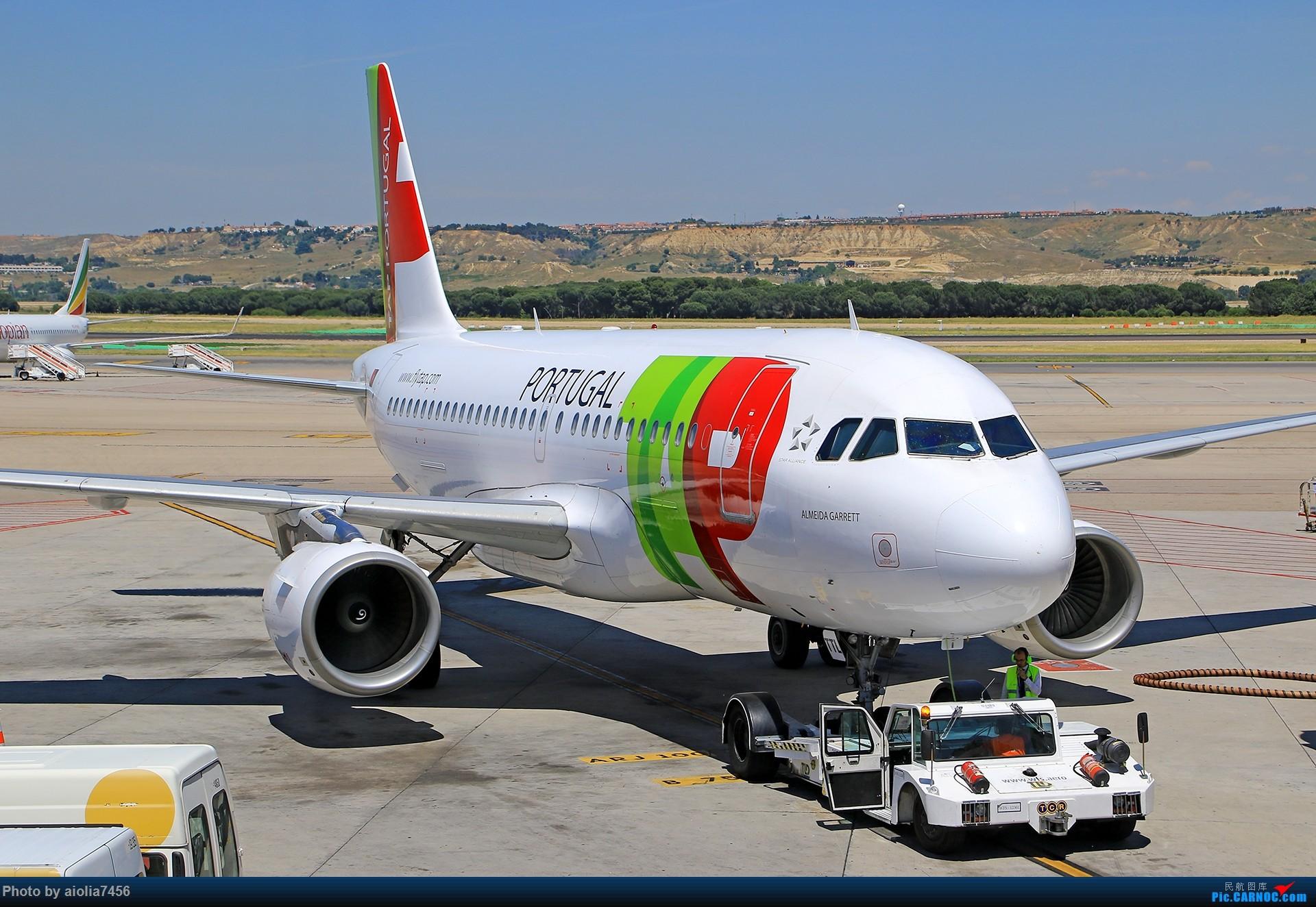 Re:[原创]【合肥飞友会】西行归来第二弹--西行拍机 AIRBUS A319 CS-TTL 西班牙马德里机场