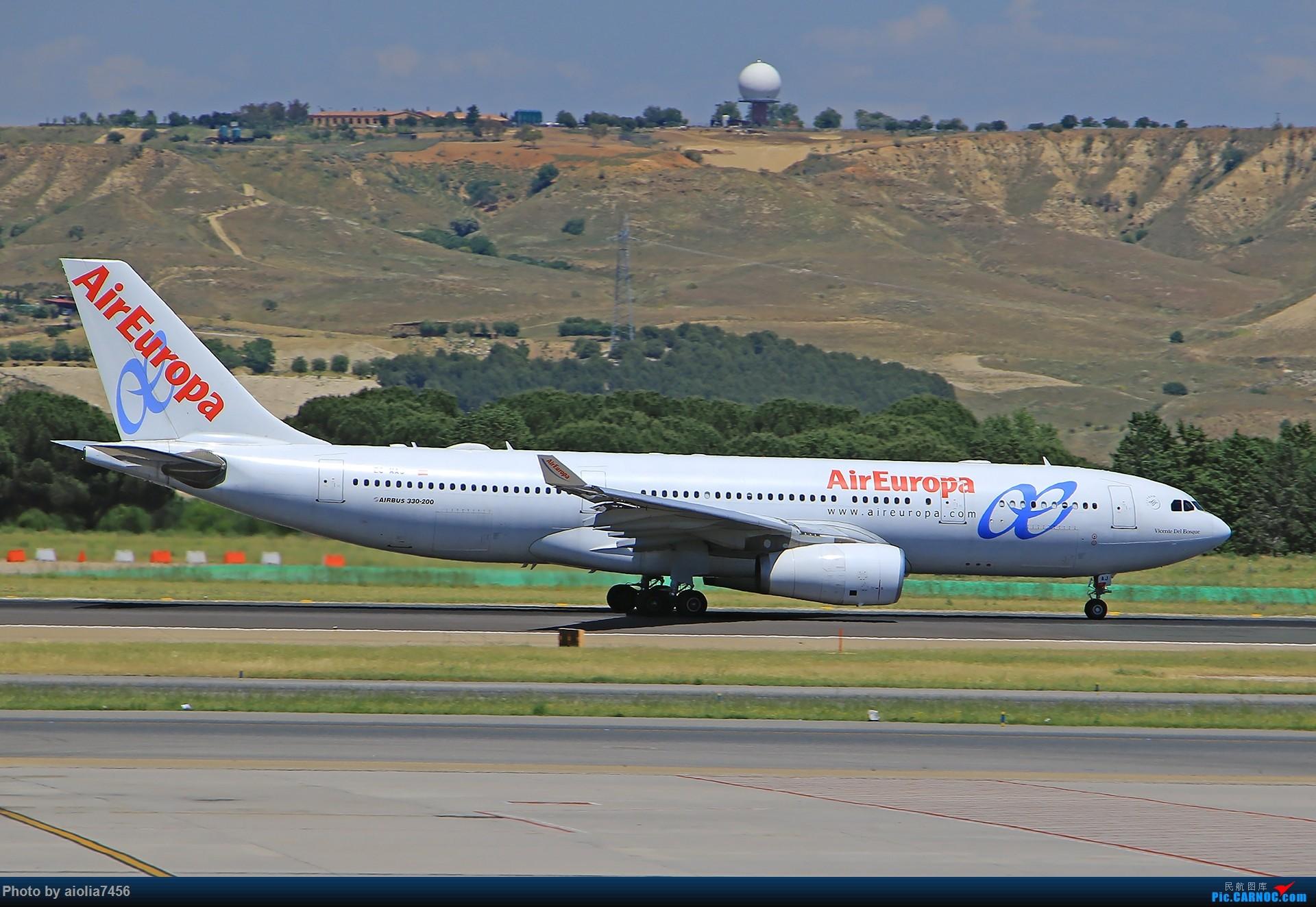 Re:[原创]【合肥飞友会】西行归来第二弹--西行拍机 AIRBUS A330-200 EC-MAJ 西班牙马德里机场