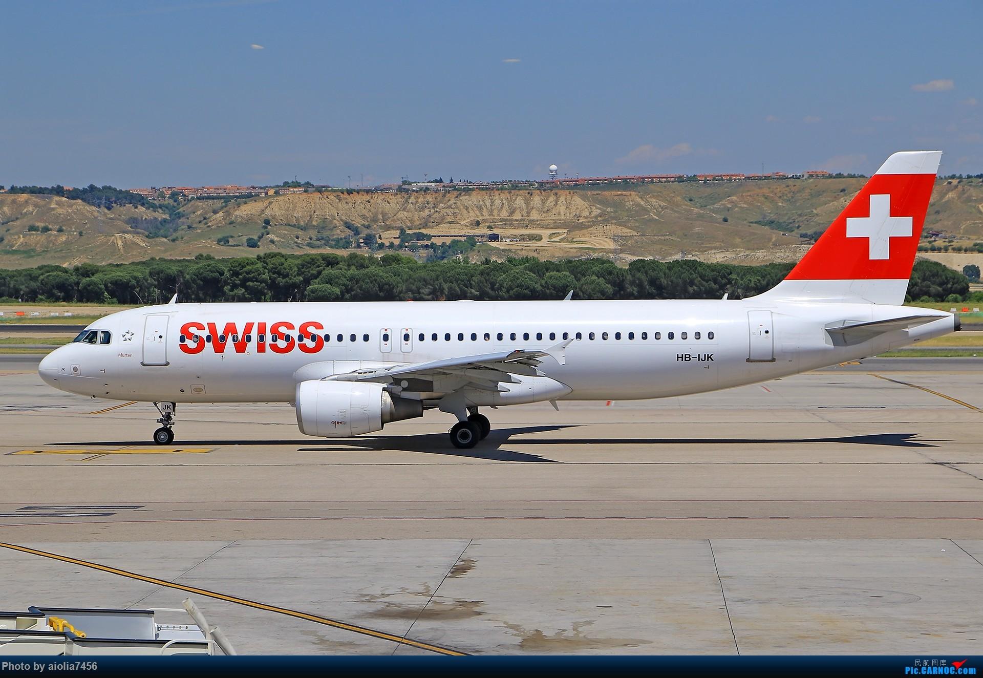Re:[原创]【合肥飞友会】西行归来第二弹--西行拍机 AIRBUS A320 HB-IJK 西班牙马德里机场