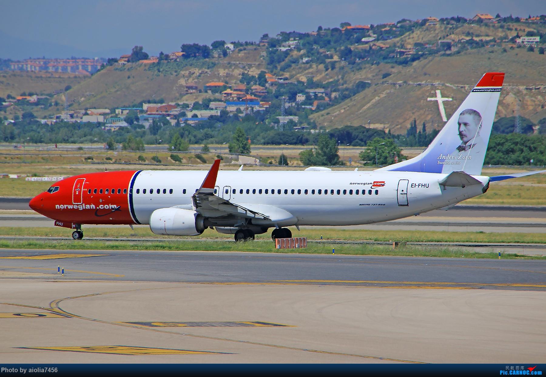 Re:[原创]【合肥飞友会】西行归来第二弹--西行拍机 BOEING 737-800 EI-FHU 西班牙马德里机场